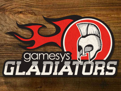 Gladiator cricket logo