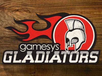 Gladiator cricket logo