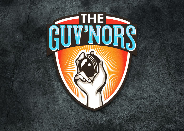 guv'nors cricket team logo design
