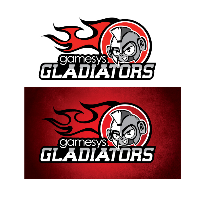 logo cricket gamesys gladiators