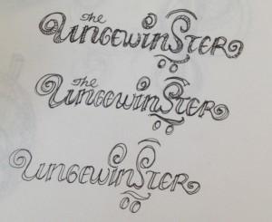 logo type sketch