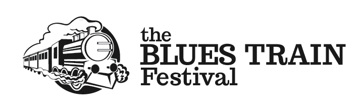 blues train festival logo